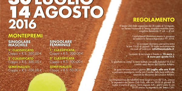 Torneo Open San Rocco 2016