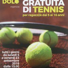 Prova gratuita di tennis dal 5 al 23 settembre