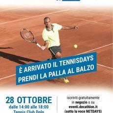 Aggiornamento eventi – Tennisday e altro