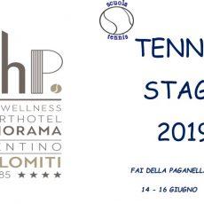 Giugno – Stage di Tennis